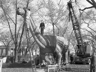 Jonas Studio's NY Worlds Fair Dinosaurs in Hudson 1964 (4)