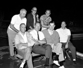 Jr. Chamber of Commerce members Hudson 1964