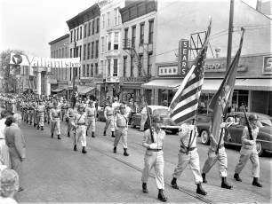 Memorial Day Parade Hudson 1960 (2)