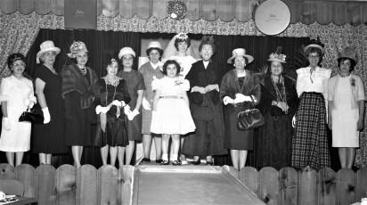Mt. Carmel Church Fashion Show 1963 (1)