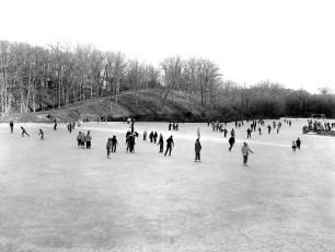 Oakdale Skating 1960