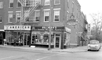 Park Place & Warren St. Hudson 1963