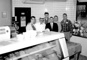 Ye Olde Meat Shoppe Grand Opening Park Place Hudson 1963 (2)