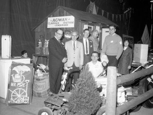 Agway Exhibit at Hudson Armory Exposition 1967
