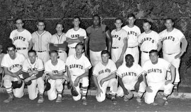 Giants Baseball Team Hudson 1967