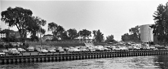 Hudson Boat Launch Site 1969
