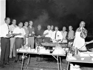 Hudson Jaycees Annual Cookout at Canape's 1966 (1)