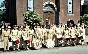 Hudson VFW Drum Corp. 1968
