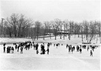Ice skating on Oakdale Hudson Dept. of Youth 1968 (2)