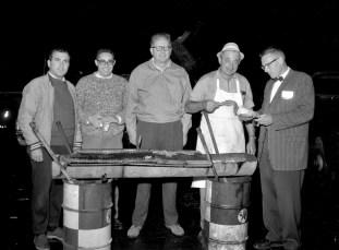 Jr. Chamber of Commerce Steak & Clam Bake Canape's Garage Hudson 1965 (2)