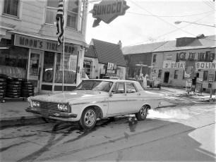Moon's Tire Shop Hudson 1968