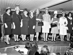 Mt. Carmel Church Hat Show Hudson 1965 (1)