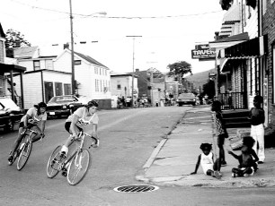 Dept. of Youth 50 Lap Bicycle Race 3rd & State St. Hudson 1976 (4)