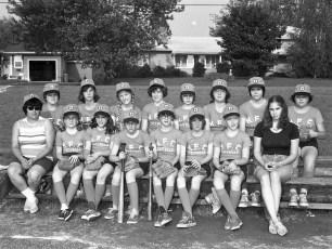 Girl's Softball League Teams 1975 (4)