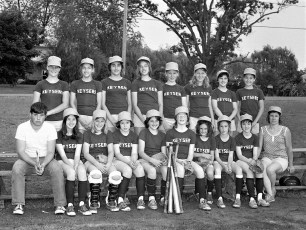 Girl's Softball League Teams 1975 (5)
