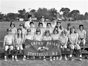 Girl's Softball League Teams 1975 (8)