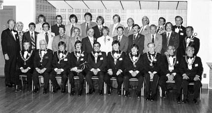Hudson Elks 787 Awards Night 1977