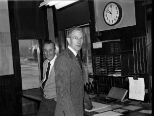 Hudson Train Station Ticket Office Ed Barber 1974