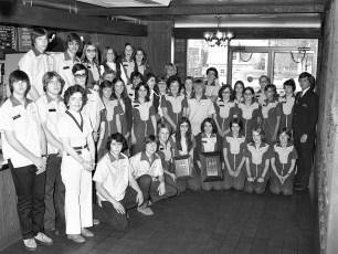 McDonalds of Hudson Outstanding Store Award 1976
