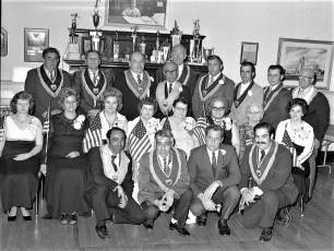 Moose Lodge 1184 New Officers Hudson 1973