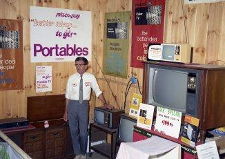 Nivers Inc. display at Col. Cty. Fair 1970