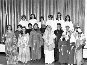 Reformed Church Christmas Pagent  Hudson 1974