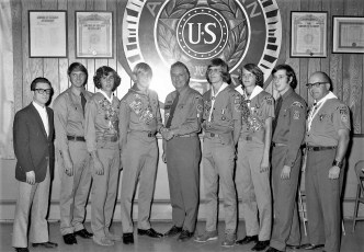 Scout Troop 102 Eagle Scout Awards Hudson 1973 (1)