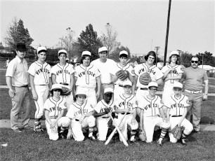 VFW Post 1314 Baseball Team Hudson 1973
