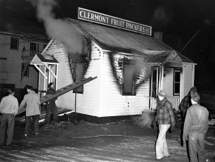 Clermont Fruit Packers fire March 1950