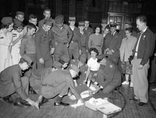 Civil Air Patrol Training at Hudson Armory 1962 (2)