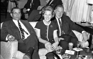 Columbia County Day at N.Y. World's Fair Jay Moore, Mary Mazzacano, Ed Buckley 1964