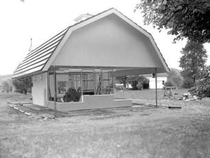 Dairy Queen new building Ghent 1962 (2)