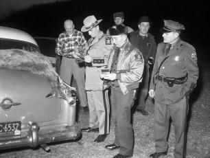 Deer check Taconic Parkway 1961