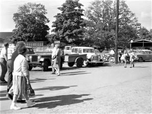 E. J.& R. Garage Jeeps at Chatham Fair  1960 (2)