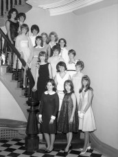 Harvest Queen Ball Entrants 1966