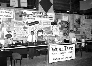 Niver's Exhibit at Col. Cty. Fair 1967