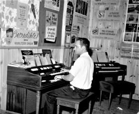 Niver's Inc. display at Col. Cty. Fair 1965 (2)