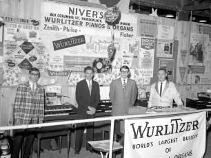 Niver's Radio Shack Col. Cty. Fair Exhibit 1966