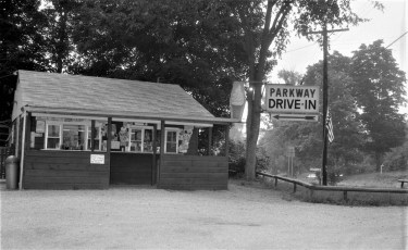 Parkway Drive-In near Chief Taghkanic Diner Claverack 1968