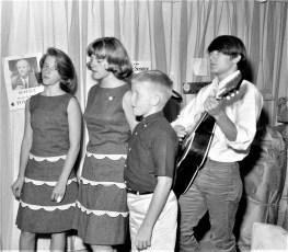 The Lynk Trio Sandy, Joan & Jeff with Jon Orr Col. Cty. Fair 1965