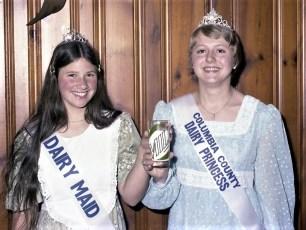 Col. Cty. Dairy Maid & Dairy Princess 1975