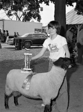 Col. Cty. 4H Sheep Show 1975 (4)