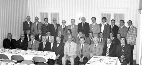 Columbia Country Club Annual Banquet 1976