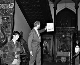 Olana Reception for Mr Huntington & Mrs. Livingston 1971 (2)
