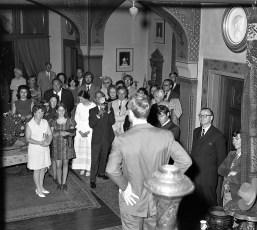 Olana Reception for Mr Huntington & Mrs. Livingston 1971 (3a)