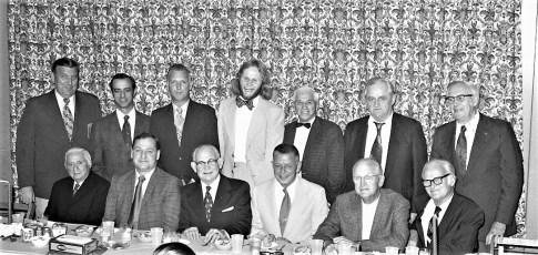 Washington Hose Co. dinner at Rock's Hudson 1973