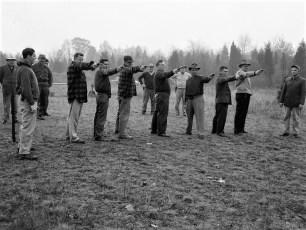 Col Cty Sheriff pistol practice 1950