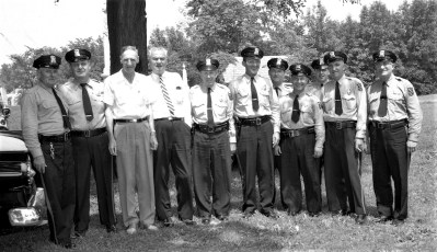 Col. Cty. Sheriff and Dept. members 1958