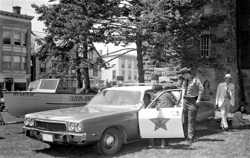 Col. Cty. Sheriff display at Hudson Armory 1974 (2)
