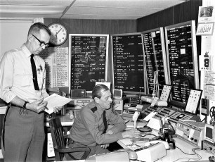 Col. Cty. Sheriff's Dispatch Center 1973